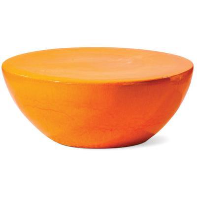 Ceramic Bowness Coffee Table - Orange