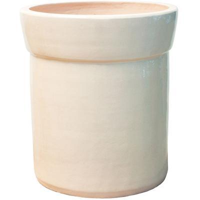 Ceramic Azov Planter - Creamy White