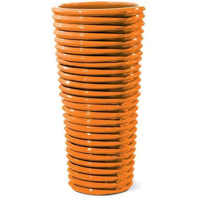 Ceramic Carlotta Vase - Orange