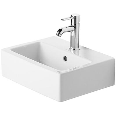 """Vero 17-3/4"""" Furniture Handrinse Basin with 1 Faucet Hole"""