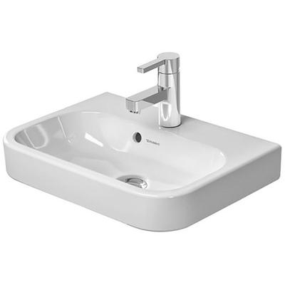 """Happy D.2 19-5/8"""" Furniture Handrinse Basin with WonderGliss and 1 Faucet Hole"""