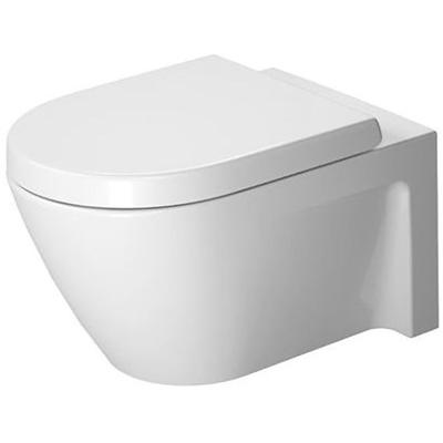 Starck 2 Wall-Mounted Toilet Bowl with WonderGliss