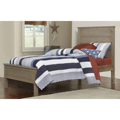 Highlands Alex Twin Panel Bed - Driftwood