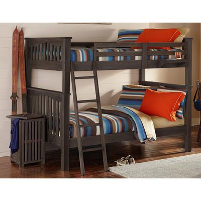 Highlands Harper Full over Full Bunk Bed - Espresso