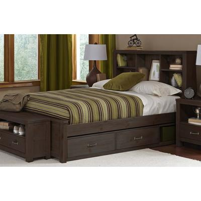 Highlands Full Bookcase Bed - Espresso
