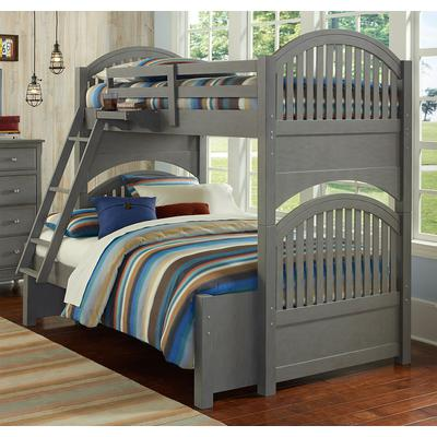 Lake House Adrian Twin over Full Bunk Bed - Stone