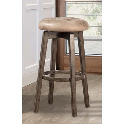 Odette Backless Swivel Counter Height Stool