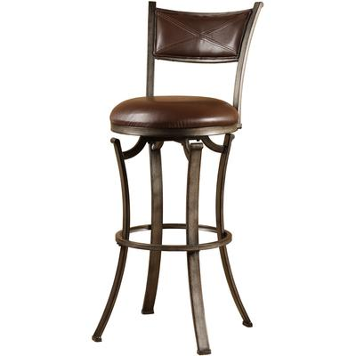 Drummond Swivel Bar Height Stool