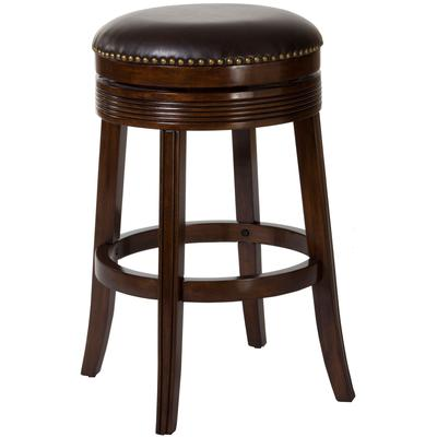 Tillman Backless Swivel Bar Height Stool
