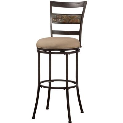 Henning Indoor/Outdoor Swivel Bar Stool