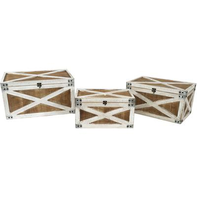 """Triple Play"" Nested Trunks - Set of 3"