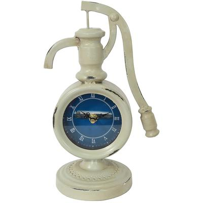 """Pumping Time"" Table Top Clock"