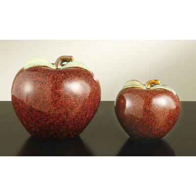 Apple Statues - Set of 2