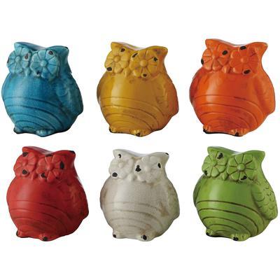 Ceramic Owls - Set of 2