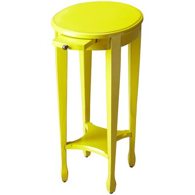 Butler Loft Arielle Yellow Round Accent Table