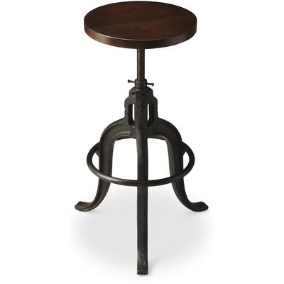 Industrial Chic Revolving Bar Stool