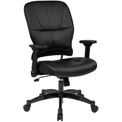 Professional Light Air Grid Chair with Headrest - Platinum