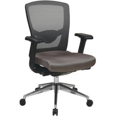 Grey ProGrid High Back Chair