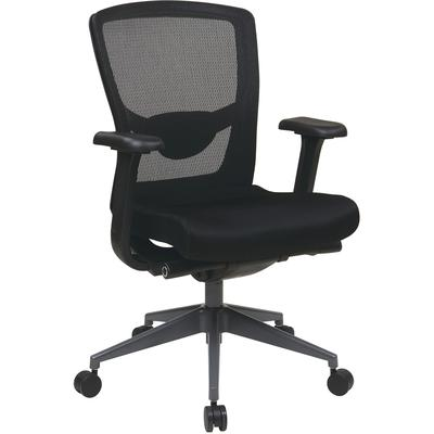 Executive Black ProGrid Back Chair