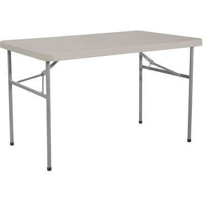 4' Resin Multi Purpose Folding Table