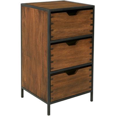 Clermont 3-Drawer Storage Cabinet
