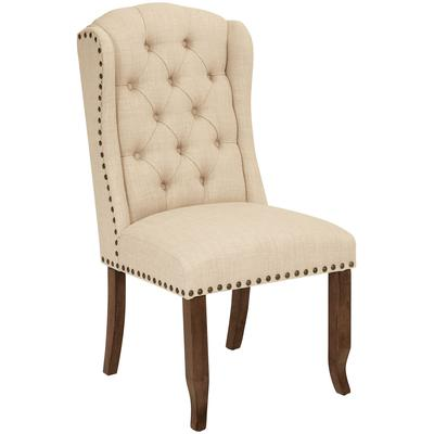 Jessica Tufted Wing Dining Chair