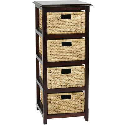 Seabrook Four-Tier Storage Unit