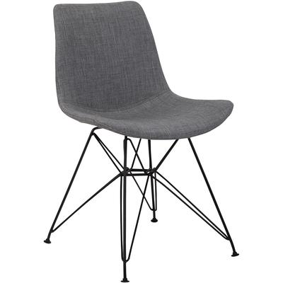 Belmont Contemporary Dining Chair - Charcoal