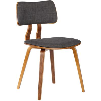 Winter Mid-Century Dining Side Chair - Charcoal