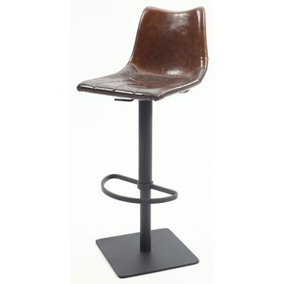 0875 Series Brown Vintage Style Pneumatic Stool