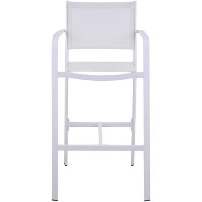 Carmel Outdoor Bar Stool with Aluminum Frame