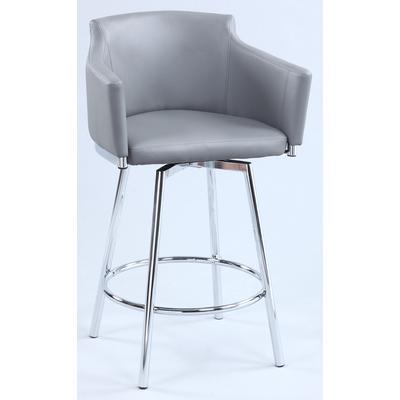 Dusty Club Counter Stool with Memory Swivel