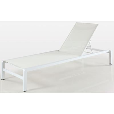 Malibu Outdoor Lounge Chair with Aluminum Frame