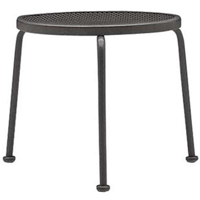 """Occasional 17"""" Round Stackable End Table with Mesh Top"""