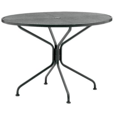 "Premium Mesh Top 42"" Round Umbrella Table"