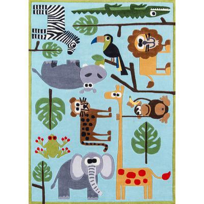 Lil Mo Whimsy Safari Area Rug