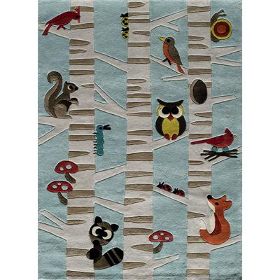 Lil Mo Whimsy Woodland Creatures Area Rug