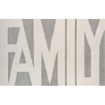 Tag Grey Family Area Rug