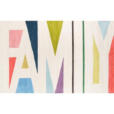 Tag Multi-Colored Family Area Rug